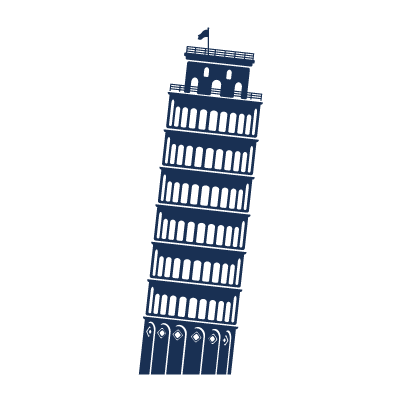 A3 Tower of Pisa